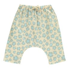product-Gold Baset Floral Harem Trousers Powder pink