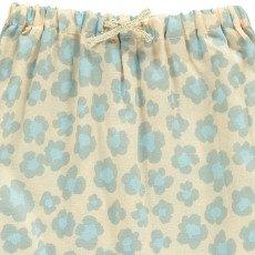 Gold Baset Floral Harem Trousers Powder pink-listing