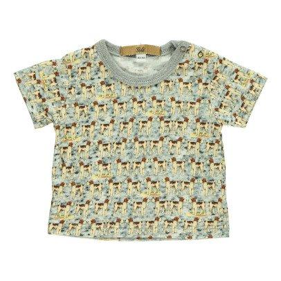 Gold T-Shirt Cani Tino Azzurro-listing