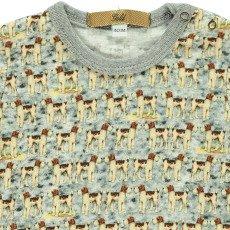 Gold Tino Dog T-Shirt Light blue-listing