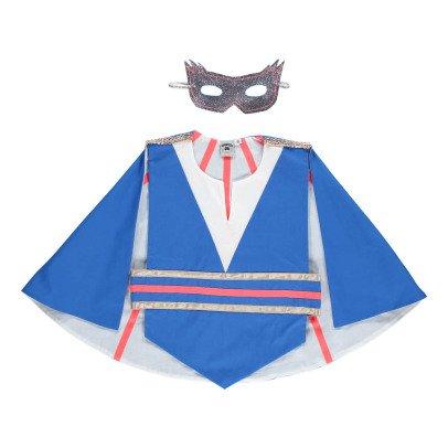 Petit Mask Disfraz Superhéroe Azul-listing