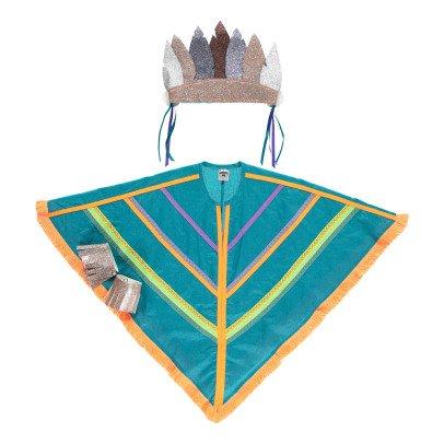 Petit Mask Déguisement Sioux Green-listing