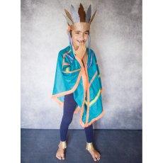 Petit Mask Disfraz Sioux Verde-listing