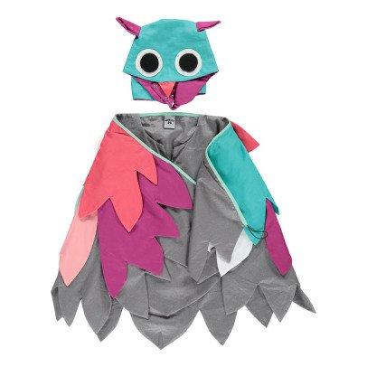 Petit Mask Déguisement Chouette Multicoloured-listing