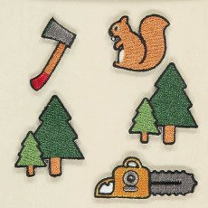 Will Woody Be Lumberjack Badge Set-listing
