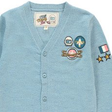 Will Woody Be Astronaut Woollen Cardigan-listing