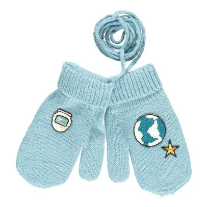 Will Woody Be Astronaut Woollen Mittens-listing