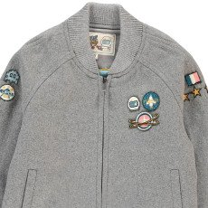 Will Woody Be Teddy Laine Uni Patché Astronaute-listing
