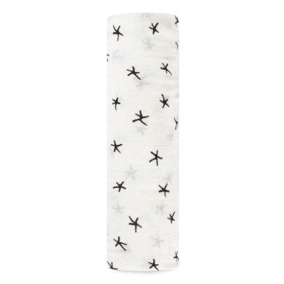 aden + anais  Manta grande en bambú estrellas-listing