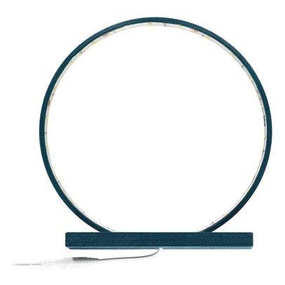 Comme un rayon de soleil Lampe à poser en bois brut avec LED - Hague blue-listing