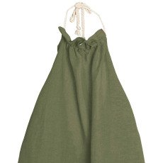 Little Creative Factory Tuareg Apron Striped Nude Back Dress-product
