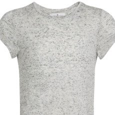 Little Remix New Blos Rayon and Linen Ruffled Long T-Shirt-listing