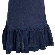 Little Remix Camiseta Larga Volantes Lino New Blos-listing