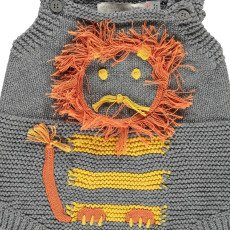 Stella McCartney Kids Barboteuse Maille Lion-listing