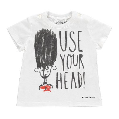 Burberry Camiseta  Use Your Head-listing
