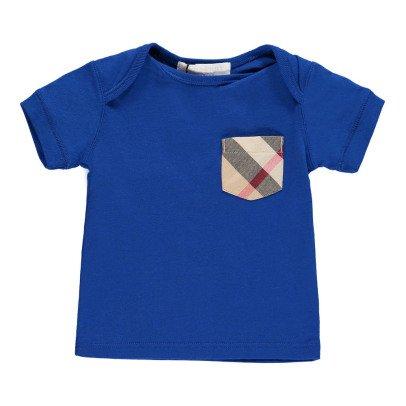 Burberry T-Shirt mit karierte Tasche Callum -listing