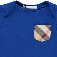 Burberry T-Shirt Poche Tartan Callum-listing