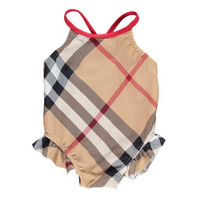 Burberry Lundy Tartan Swimsuit-listing