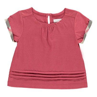 Burberry T-Shirt Giselle mit Karomuster -listing