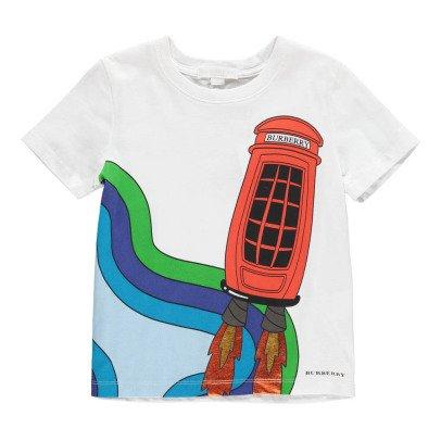 Burberry T-Shirt Cabine Téléphonique-listing