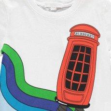 Burberry Camiseta Cabina Telefónica-listing