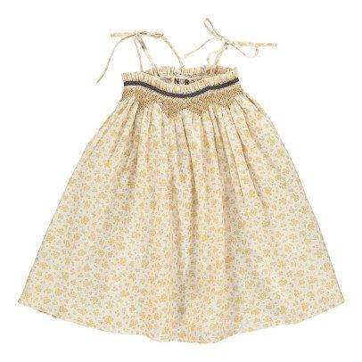 Noro Robe Bain de Soleil Lin Fleurie Cerise-listing
