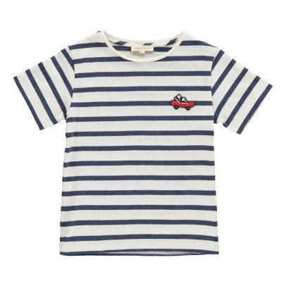 Hundred Pieces Skate Stripe T-Shirt-listing