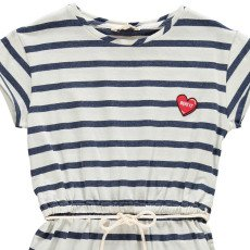 Hundred Pieces Heart Stripe Dress-listing