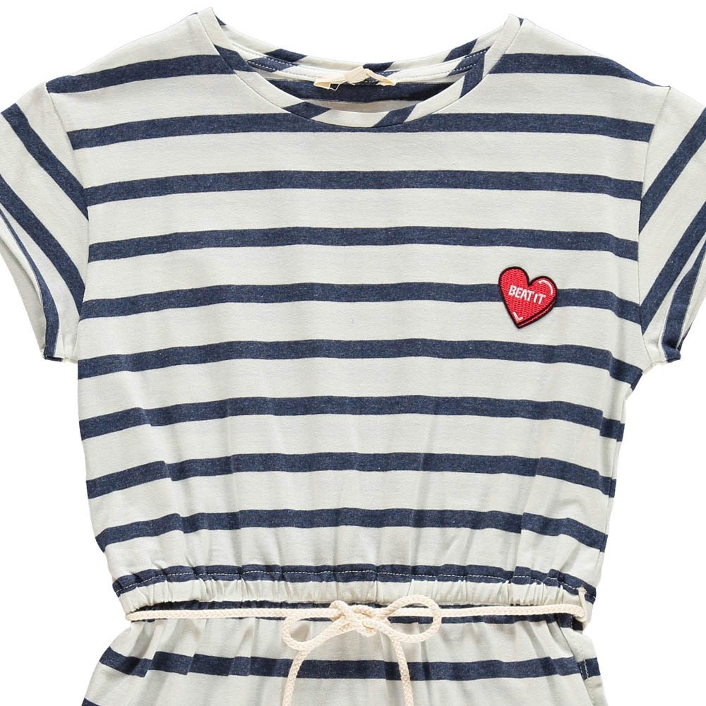 Hundred Pieces Heart Stripe Dress-product