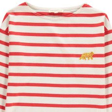 Hundred Pieces T-shirt Righe Tiger-listing