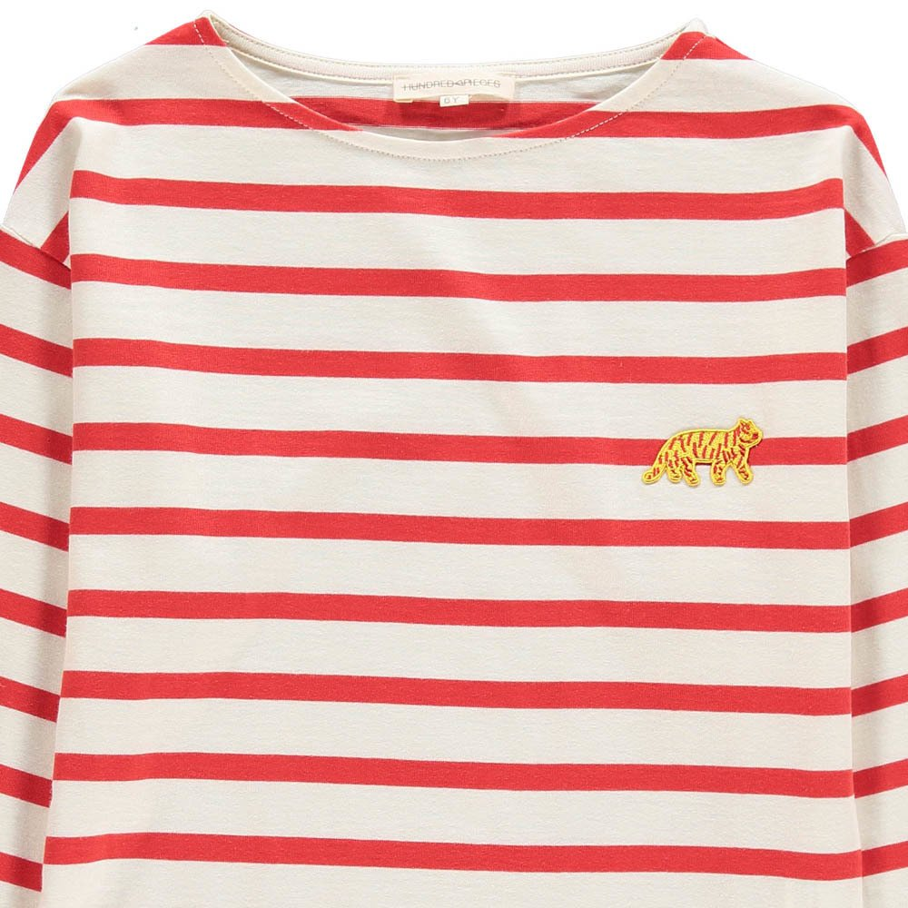 Hundred Pieces Tiger Stripe T-shirt-product