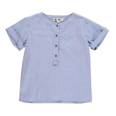Camisa Manga Corta Mini Cuadros Hanoi