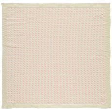 Whole Rice Woca Jacquard Knitted Baby Blanket 90x90cm-listing