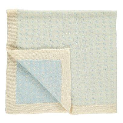 Whole Couverture de bébé en tricot jacquard Woca Rice 90x90 cm-listing