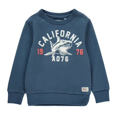 "AO76 ""California"" Shark Sweatshirt-listing"