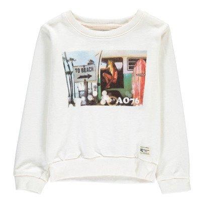 AO76 Sweatshirt Kamera Van -listing