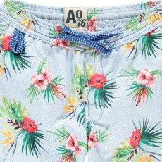 AO76 Short de Bain Fleurs Exotiques-listing