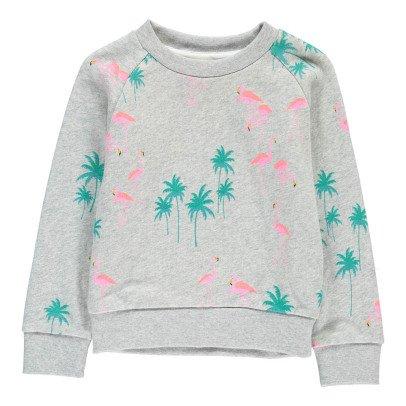 AO76 Pink Flamingo Sweatshirt-listing