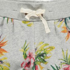 AO76 Exotic Flower Sweat Shorts-product