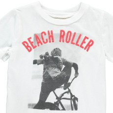 """AO76 T-shirt """"Beach Roller""""-listing"""