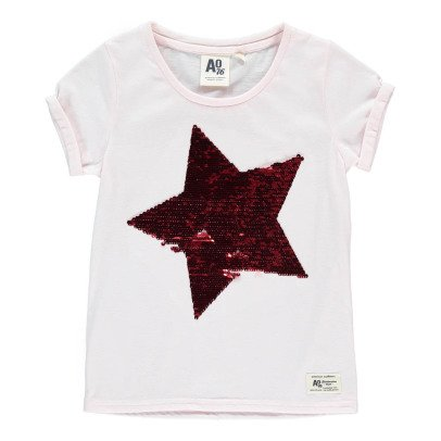 AO76 T-shirt Etoile Sequins-listing