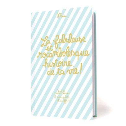 Minus Editions Cahier La fabuleuse et rocambolesque histoire de ta vie-product