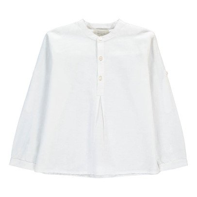 Bonnet à pompon Linen Kurta-listing