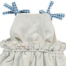 Bonnet à pompon Pelele Tirantes Vichy-listing