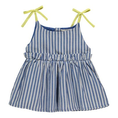Bonnet à pompon Striped Sun Bath Dress-listing