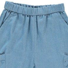 Bonnet à pompon Pantalon Poches-listing