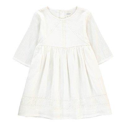 Bonnet à pompon Dress with Lace Detail-listing