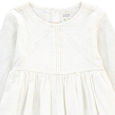 Bonnet à pompon Vestido Detalles Encaje-listing