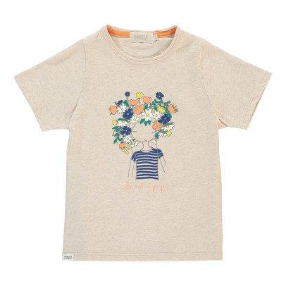 Bonnet à pompon Camiseta Personaje Flores -listing