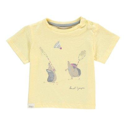 Bonnet à pompon T-shirt Hérissons Badminton-listing